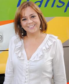 LOURDES FRANCELINA VIEIRA DE ALMEIDA, diretora comercial e sócia-propietária da empresa City Tour Transportes.